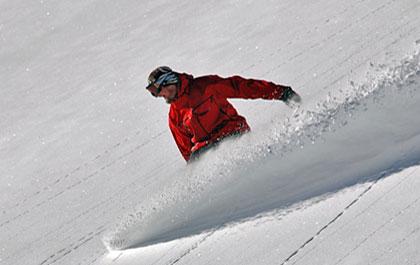 Mayrhofen skiing snowboarding
